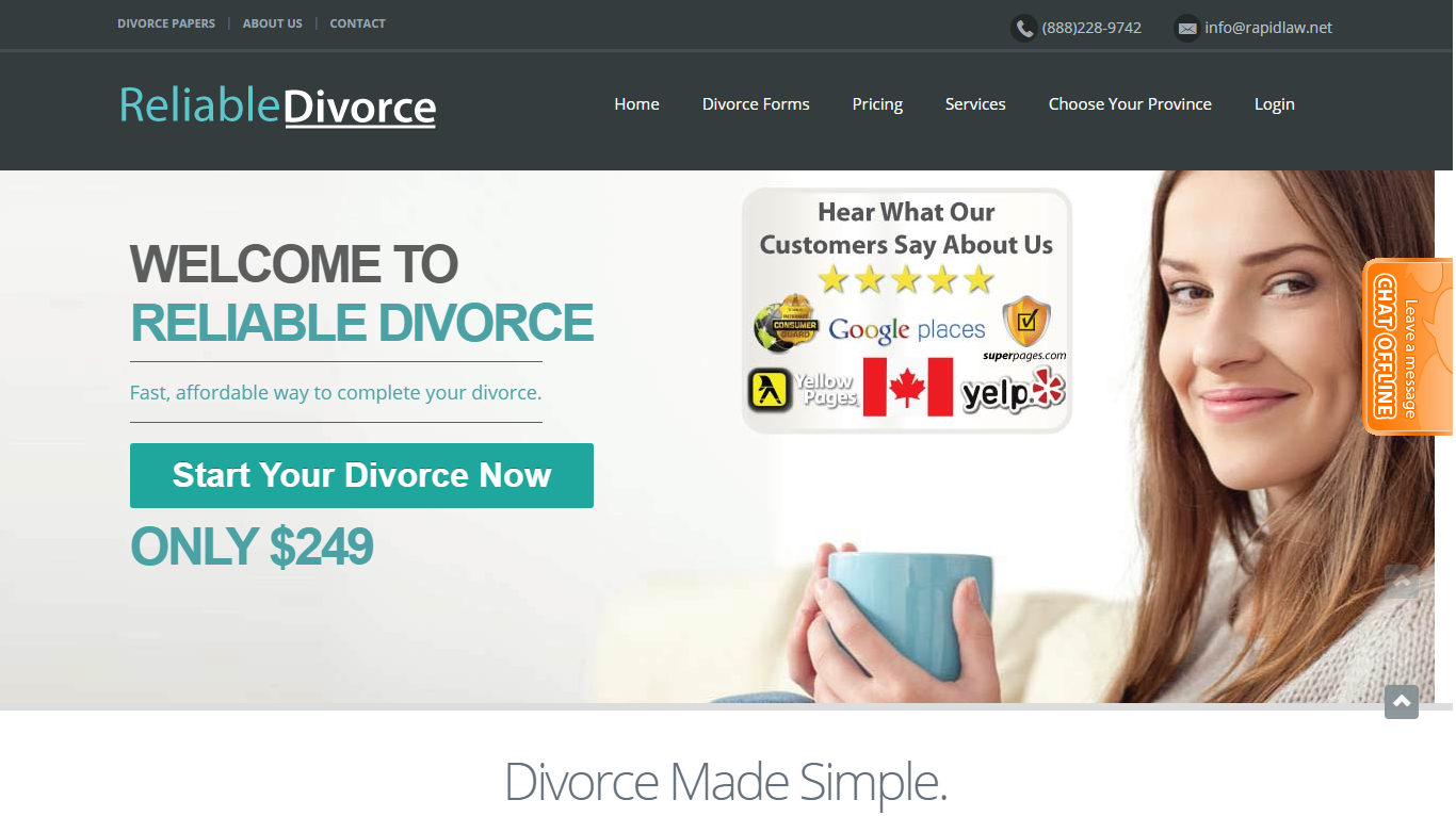 Reliable Divorce Canada